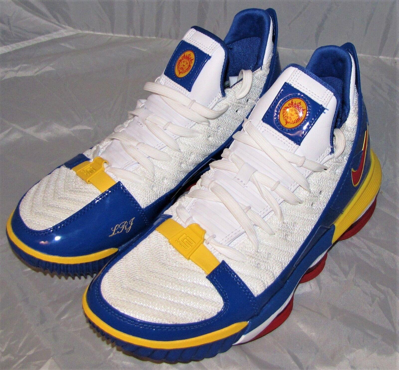 NIKE LEBRON  XVI SB SUPERBRON CD2451-100 Basketball shoes SIZE MEN 8.5 NEW NBA