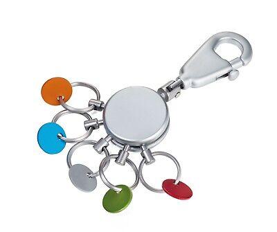 Schlüsselanhänger Schlüsselhalter Troika Patent KYR60 Organizer  Keyring matt
