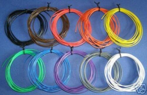 20 metros de cable 7/0.2 Color Codificado