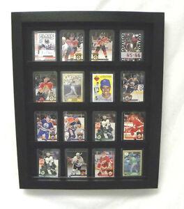 Details About Baseball Card Display Baseball Football Hockey Basketball 20 Card Display Case