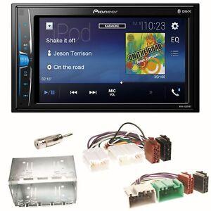 Pioneer-MVH-A200VBT-Moniceiver-Bluetooth-USB-Einbauset-fuer-Volvo-S40-V40-850