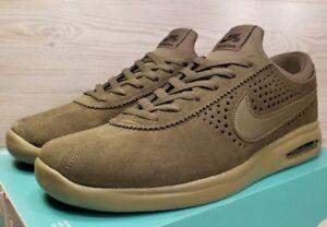 e4279d9072e065 Nike SB Air Max Bruin Vapor Medium Olive Green Suede 882097 200 Size ...
