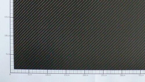 1mm Carbon Platte Kohlefaser CFK Platte ca. 400mm x 150mm