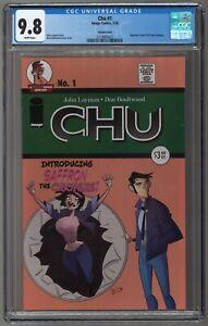 CHU #1 Chew CGC 9.8 SOLD OUT Lt 500 Detective Comics #38 Variant 1st SAFFRON CHU