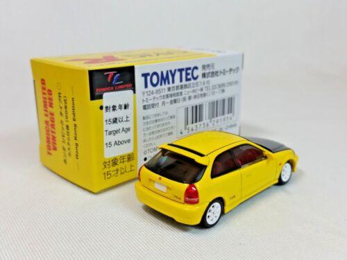 1:64 Tomytec Tomica Limited Vintage Neo Honda Civic Type R EK9 99 Hong Kong Only