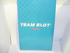 Elektrisches Spielzeug Team Slot Katalog Jahr 2002 Neu 31 Seiten Fine Quality