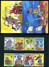 Lesotho 502-511, MNH, Disney characters 1982. x10746