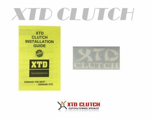 XTD STAGE 2 CLUTCH /& X-LITE FLYWHEEL KIT FITS FOR TIBURON ELRANTRA 2.0L