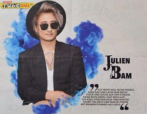 JULIEN-BAM-A2-Poster-XL-42-x-55-cm-Clippings-Fan-Sammlung-NEU