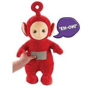 New Teletubbies 26cm Talking Po Soft Plush Toy Ebay