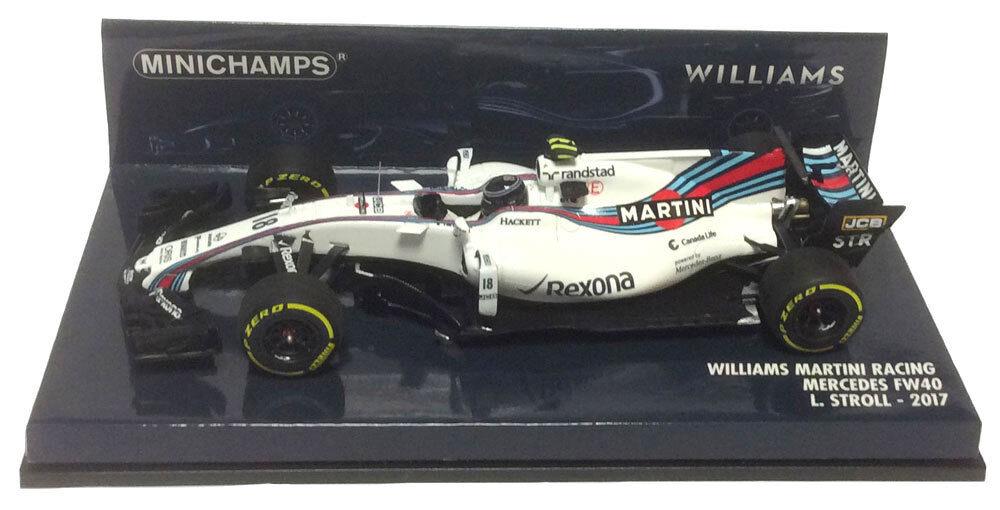 Minichamps Williams FW40 Lance paseo escala 1 43