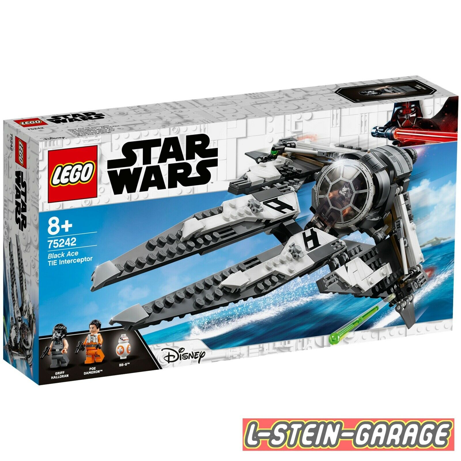 LEGO® Star Wars™ Set 75242 TIE Interceptor™ Interceptor™ Interceptor™ – Allianz-Pilot NEU & OVP e9d859