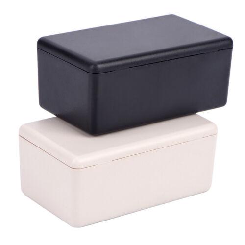 5pcs Black Waterproof Plastic Electric Project Case Junction Box 60x36x25mm H/&