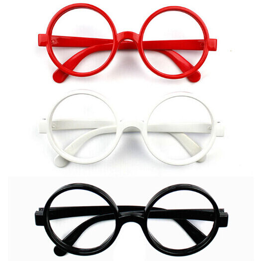 Harry Potter Glasses Fancy Dress Frame Costume Round A25-9001 NO LENS x 1 Wizard