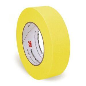 """1 1//2/""""  36 mm x 55mm Yellow Automotive Masking Tape 3M 6654-06654 1 Roll"""