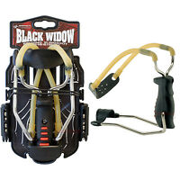 NEW Barnett BLACK WIDOW Powerful Hunting Slingshot Catapult