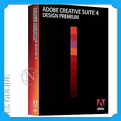 Buy Adobe Creative Suite 4 Design Premium Mac