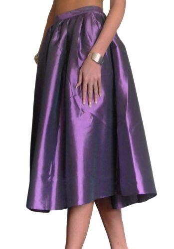 Femme Jupe Évasée Rockabilly Années 50 Swing Taille 10 12 14 16