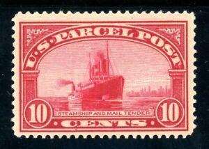 USAstamps-Unused-VF-US-1913-Parcel-Post-Steamship-Mail-Scott-Q6-OG-MVLH