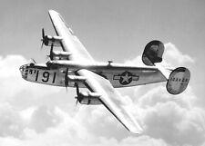 Consolidated B-24 2-sided Checklist on Aluminum WW II Aviation  CKL-0111