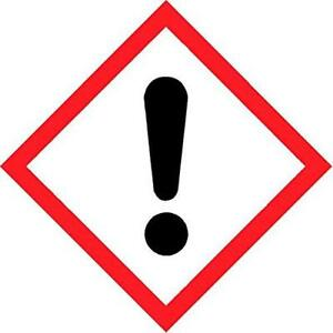 what is the safety symbol for an irritant