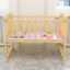 BABY-BED-SIDE-CRIB-NURSERY-NEXT-TO-MUM-NEXT-BED-FROM-BIRTH-COT-MATTRESS thumbnail 5