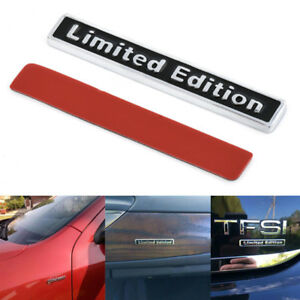 Unique-3D-Metal-LIMITED-EDITION-Car-Auto-Rear-Lid-Fender-Trunk-Sticker-Emblem