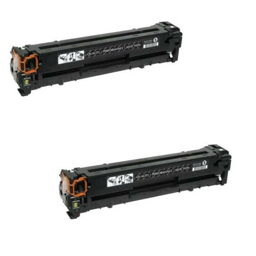 2 NEW BLACK Laser Toner Cartridge for CE320A HP LaserJet Pro CM1415fnw CP1525nw