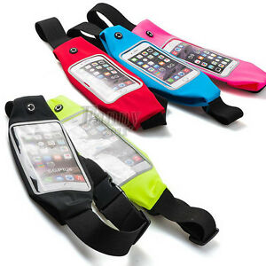 low priced 09c73 d9158 Details about For iPhone 6 6S plus Gym Sports Running Jogging Belt Bag  Waist Cover Case Holder