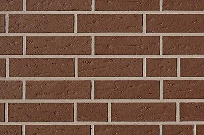 Heimwerker Eine Hohe Bewunderung Gewinnen Vornehm Klinker Riemchen Aus Ton Gebrannt Braun Struktur Nf Ca.239 X 69 X 15 Mm 1.s Fassade