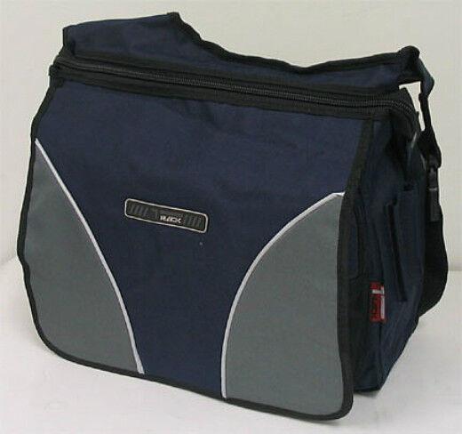 Large Navy Messenger Sling Body Bag Backpack Binder Bag School Shoulder Pouch