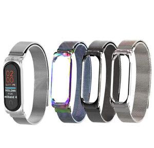 Bracelet-milanais-en-acier-inoxydable-pour-montre-filete-pour-Xiaomi-Mi-Band-4