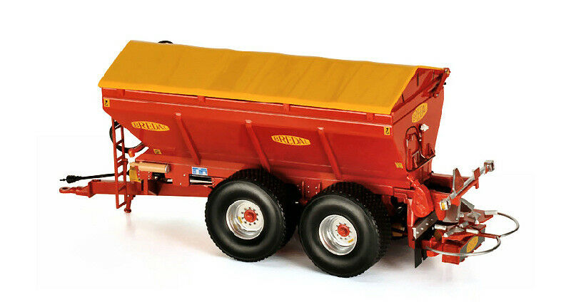 Brojoal k165 Lime and fertiliser spreader 1 32 Model ros60216 Ros