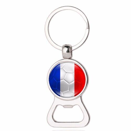 2018 World Cup Football National Flag Car Key Chain Keyring Soccer Lover Gift US