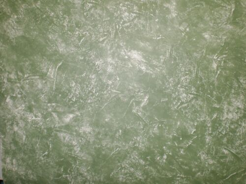 Green /& White Faux Finish Wallpaper by Birge   842140