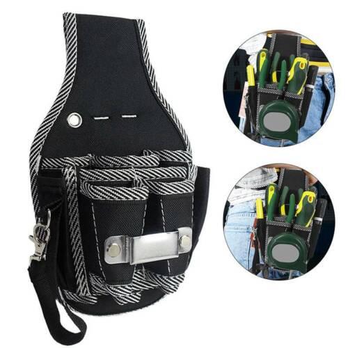 9 in 1 Electrician Waist Pocket Tool Belt Pouch Bag Screwdriver Kit Holder MP