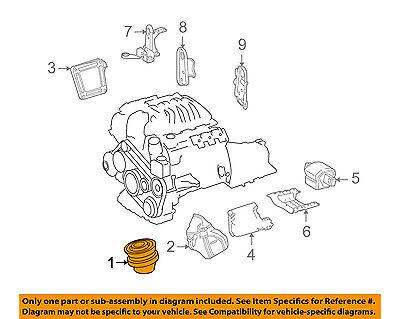 Mercedes MERCEDES-BENZ OEM GL63 AMG-Engine Motor Mount Torque Strut 1662407717