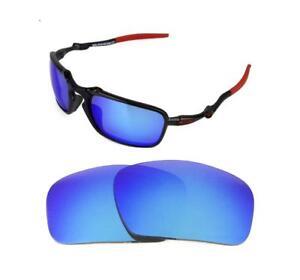 bac3eef62a La imagen se está cargando Nuevas-Polarizadas-Repuesto-Acero-Azul-Lentes- para-Oakley-