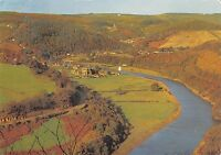B100097 tintern abbey and river wye   wales