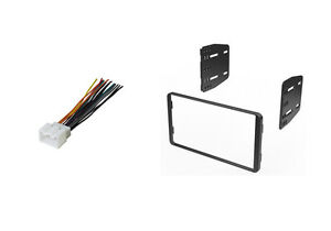 car stereo dash install installation kit double din wire harness image is loading car stereo dash install installation kit double din