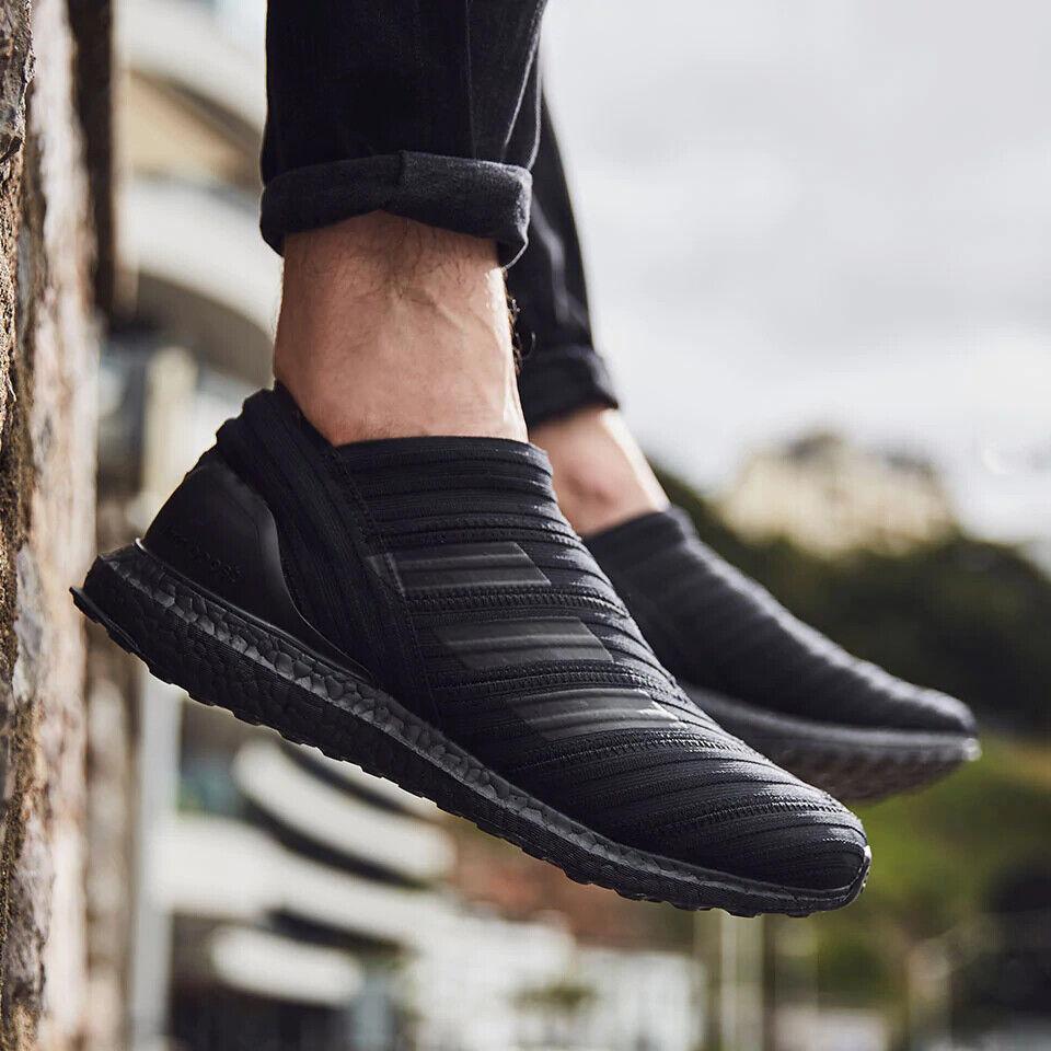 Adidas nemeziz Tango 17+ 360 agilidad Ultra Boost Triple Negro CG3657 Talla 6 Reino Unido