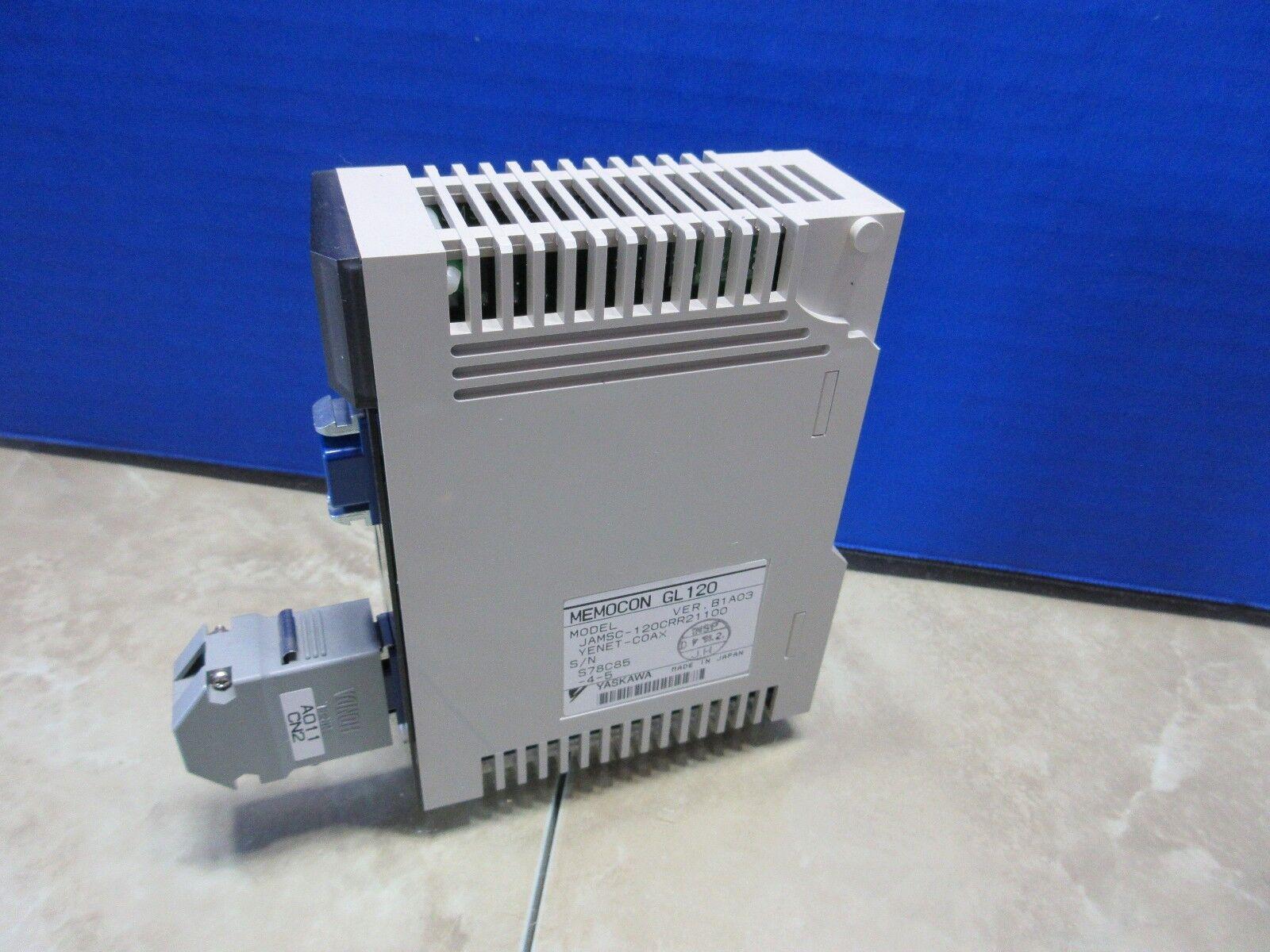 Yaskawa 120CRR21100 módulo de salida de retransmisión retransmisión retransmisión memocon GL120 B1A03 jamsc - 120CRR21100 61e8f0