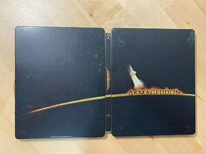 Armageddon-Steelbook-Only-Bluray-DVD-Discs-RARE