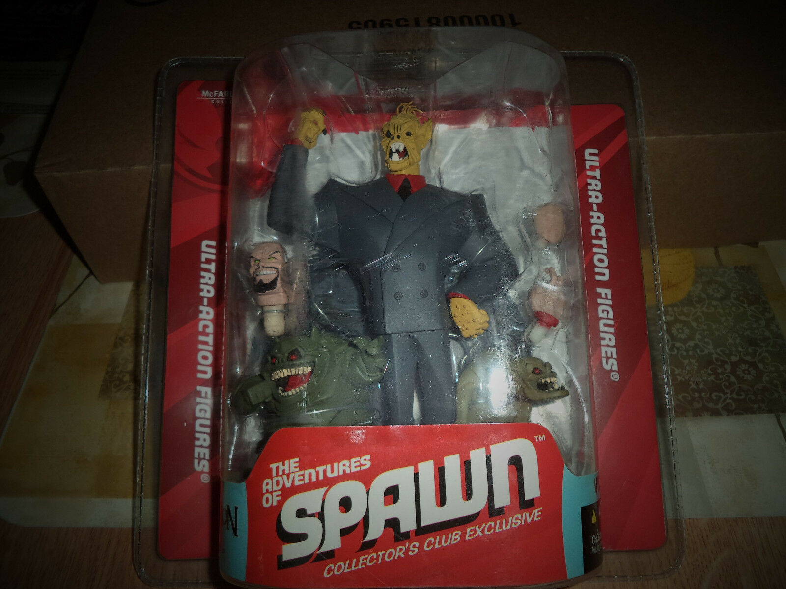 McFarlane Toys Spawn Lord Mammon Action Figure  Sealed New