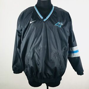 best service 0cc79 3e6af Details about NFL Carolina Panthers Nike Pro Line Pullover Reversible  Jacket Men's Size XL