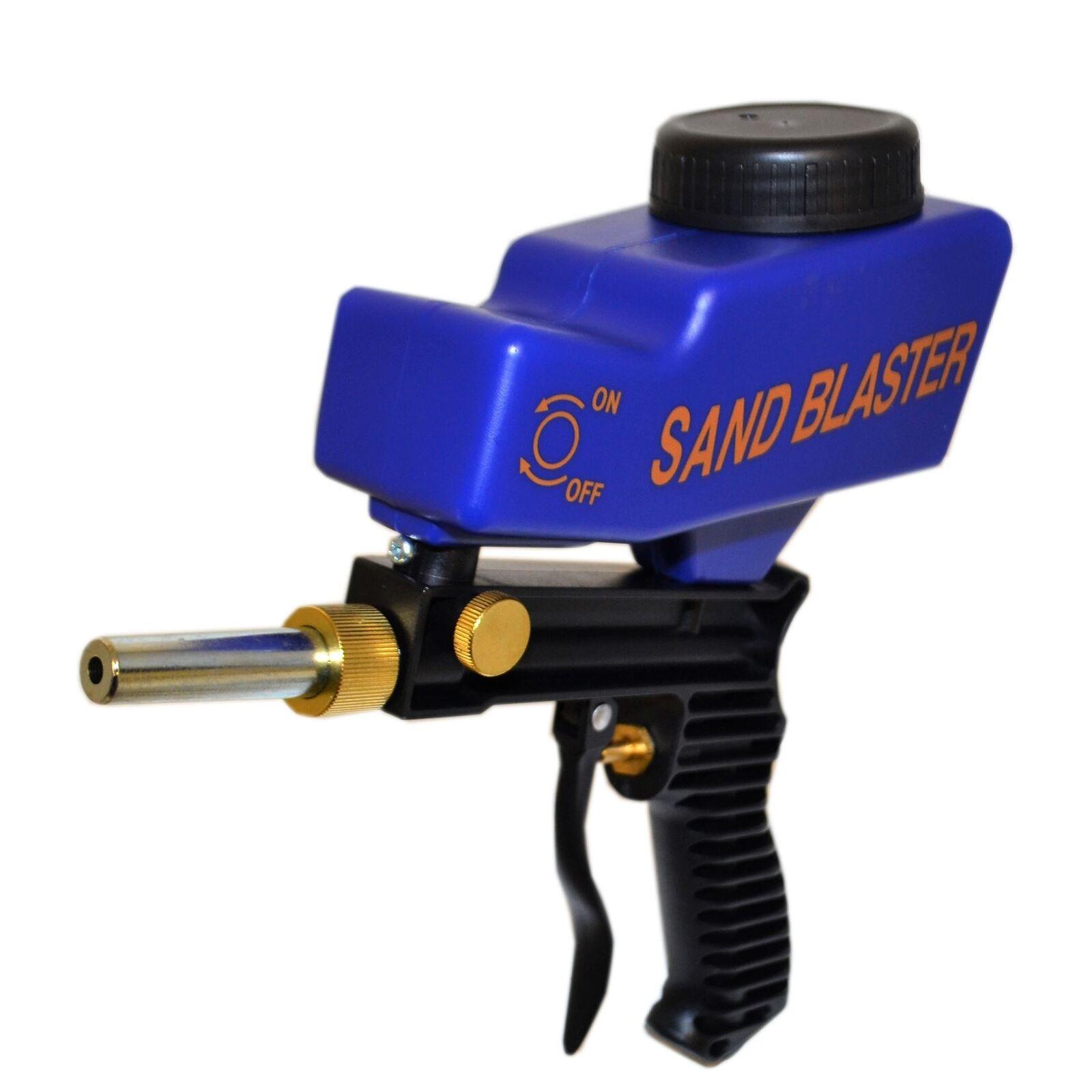 Pot Air Sandblaster Kit Grit Shot Sand Remover Blaster Rust Paint Remover Sand Removal Tool f50eae