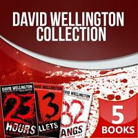 David Wellington Laura Caxton Vampire Tales Series 5 Books Collection Set