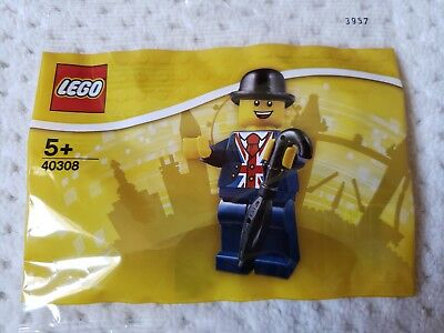 LEGO 40308 Lester Store Leicester Square London Exclusive Poly Bag