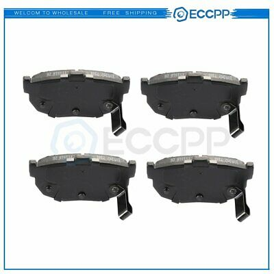Rear Ceramic Brake Pads For 1995-1998 Jeep Grand Cherokee Performance Low Dust