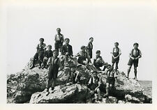 PHOTO ANCIENNE - VINTAGE SNAPSHOT - SCOUT SCOUTISME GROUPE - BOY SCOUT 1946 2